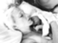 newborn, birth photography, new mom, birth, bonding with baby, skin to skin