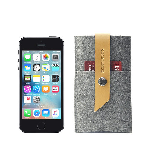 iPhone SE Wallet - Grey