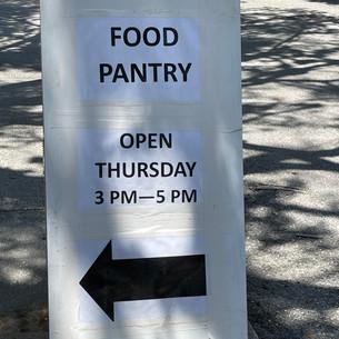 Beymer Food Pantry is OPEN