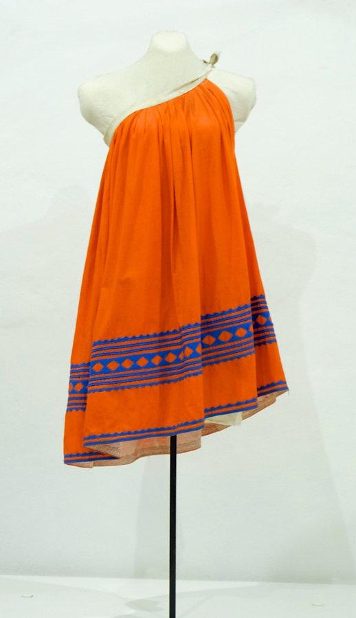Falda de uso cotidiano de mujer de Xochistlahuaca