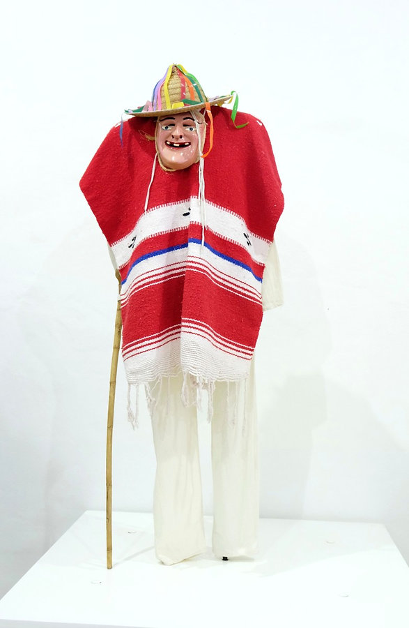 Vestuario de la Danza de los Viejitos de Michoacan