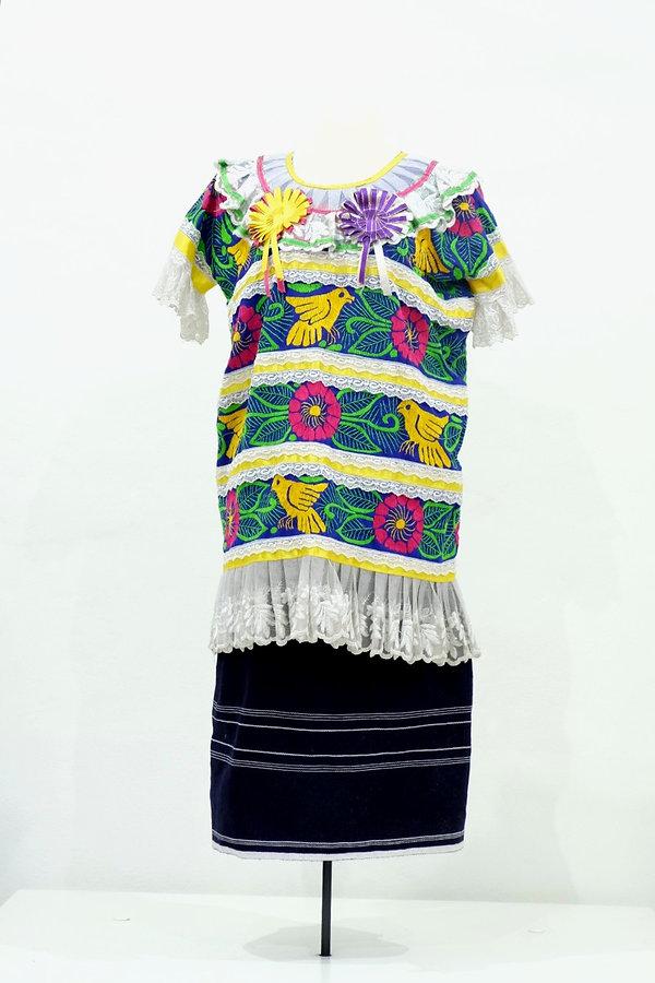 Conjunto de fiesta de mujer de San Felipe Jalapa de Díaz