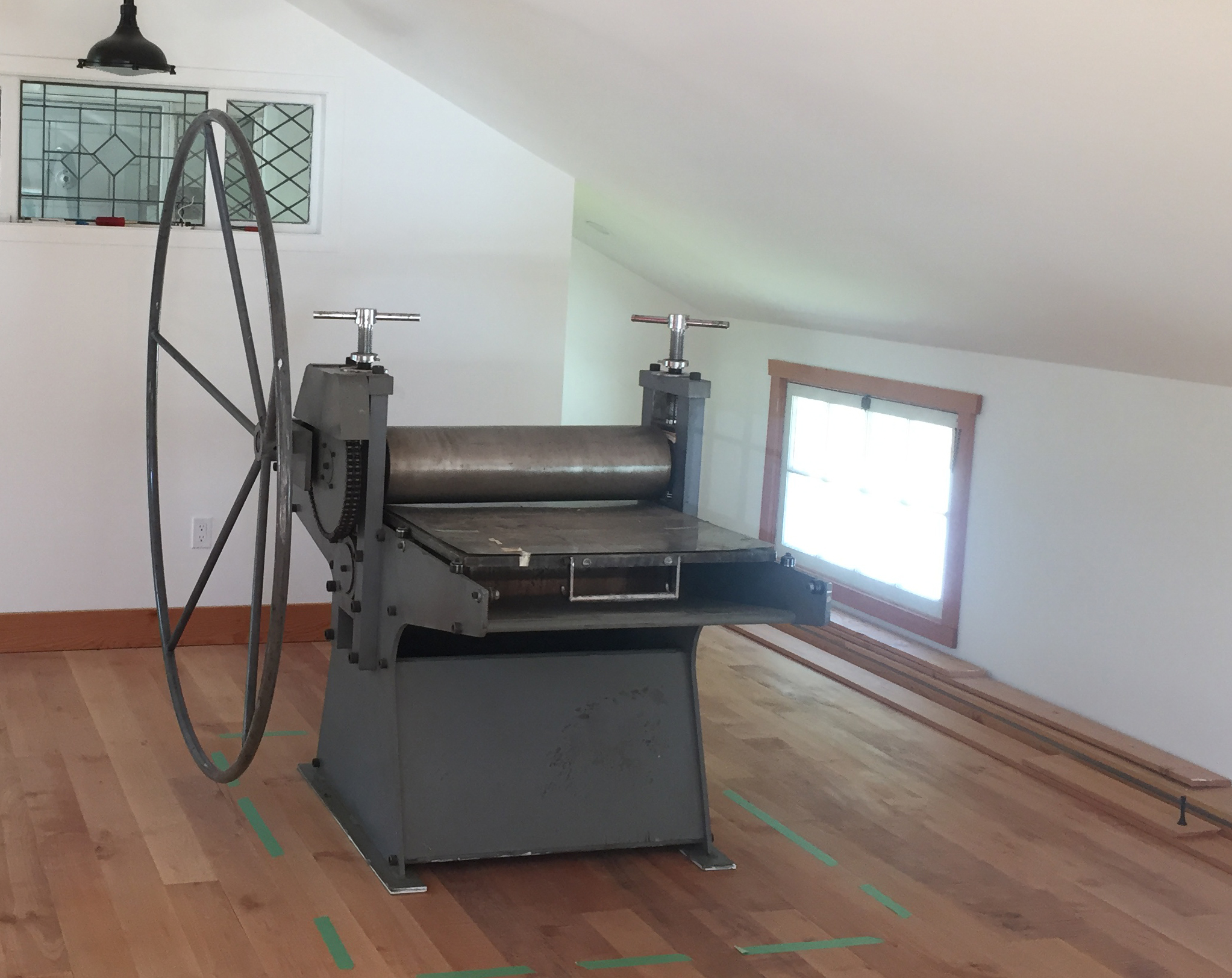 printmaking press