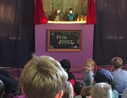 puppet show!