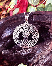 Celtic Tree of Life Pendant and Necklace