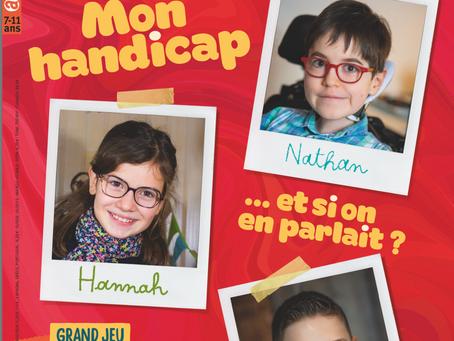 Le magazine pour enfants Astrapi propose un numéro spécial handicap.