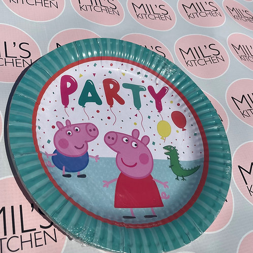 Peppa Pig Plates and Napkins