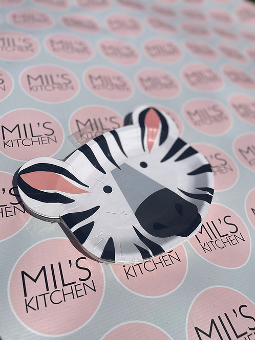 Animal Party Plates