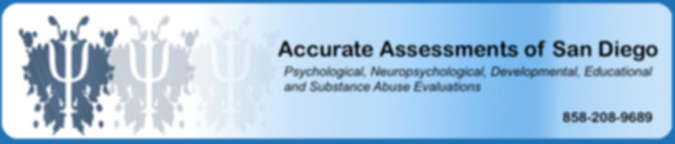 Testing and Assessment Psychologist Neuropsychologist San Dieg