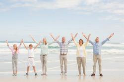 generations on beach