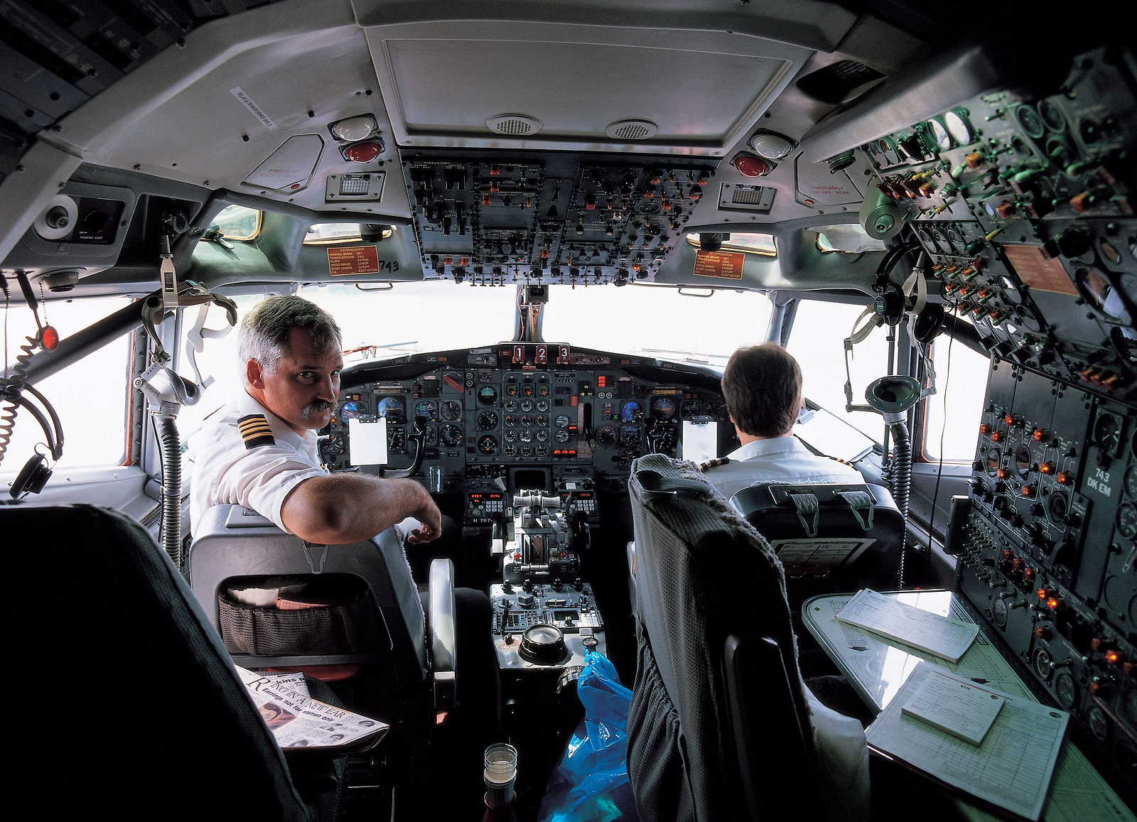 bigstock-Plane-With-Pilot-430038