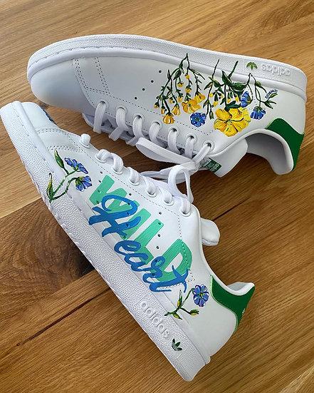 Wild heart sneakers