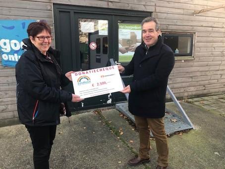 Lindhout steunt voedselbank Goed Ontmoet