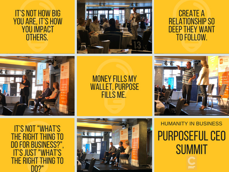 Insights from the Purposeful CEO Summit
