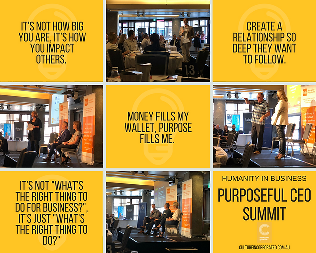 Insights from the Purposeful CEO Summit | Home | Humanity in Business