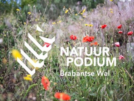 Lindhout blij als sponsor Natuurpodium Brabantse Wal te Bergen op Zoom