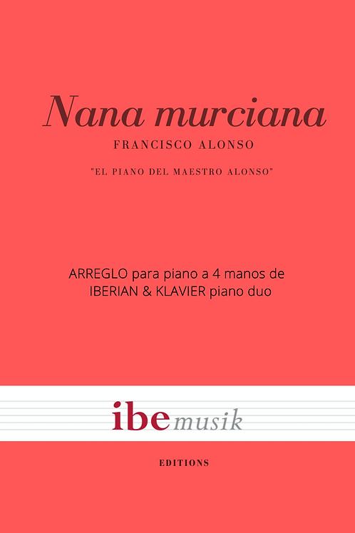 Nana murciana (Versión piano a 4 manos)