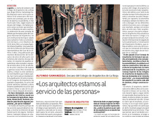 Entrevista Diario La Rioja