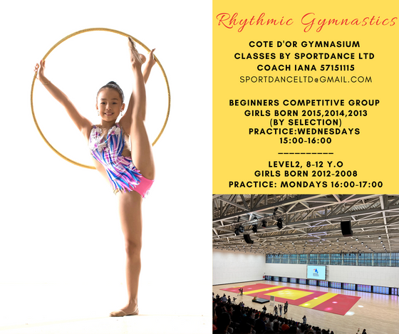 NEW! Training at Cote D'Or Gymnasium