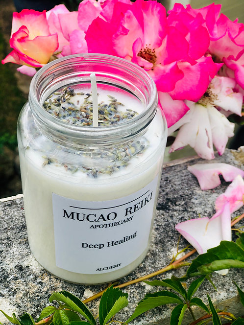 Deep Healing Intention Candle