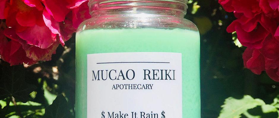 $ Make It Rain $ Intention Candle