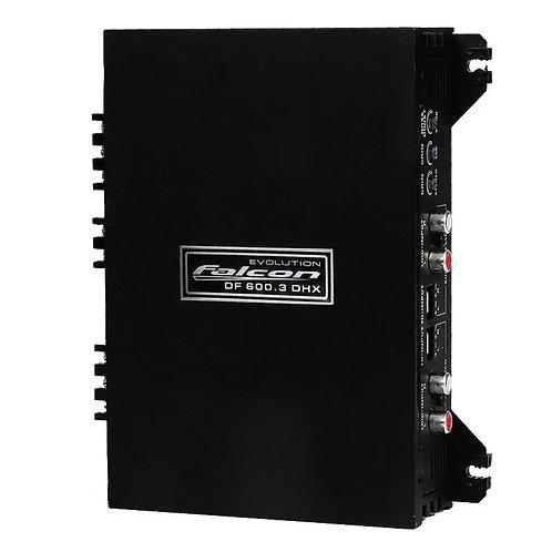 AMPLIFICADOR FALCON DF 600.3 DHX 1X400/2X100 3 CANAIS