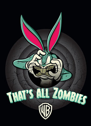 Placa Decorativa WB Zombies