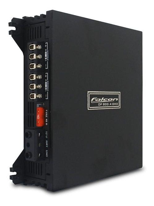 AMPLIFICADOR FALCON DF 800.4 DHX 4X200 RMS HI-INPUT