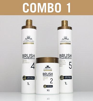COMBO 1 - Brush Compression [3 PRODUTOS]