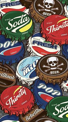 Placa Decorativa Soda