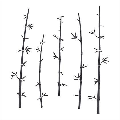 Adesivo Recorte Bamboo 30x150cm