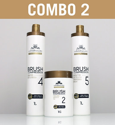 COMBO 2 - Brush Compression [6 PRODUTOS]