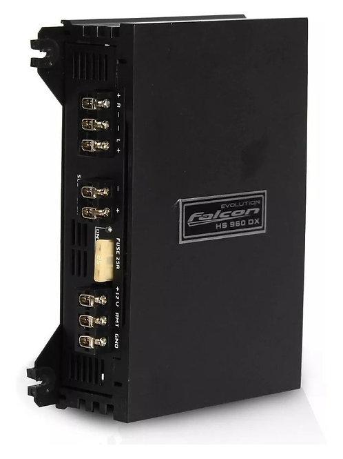 AMPLIFICADOR FALCON HS960 DX 3 CANAIS 350 RMS