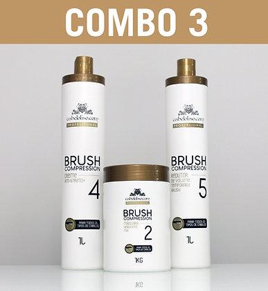 COMBO 3 - Brush Compression [12 PRODUTOS]