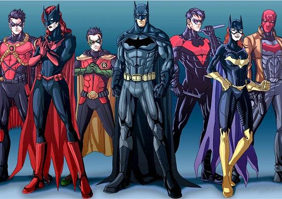 Placa Decorativa Batman and Robin