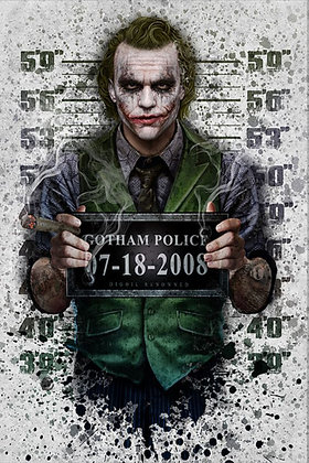 Placa Decorativa Joker