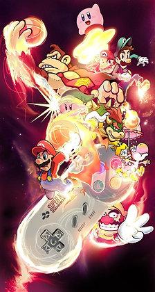 Placa Decorativa Nintendo
