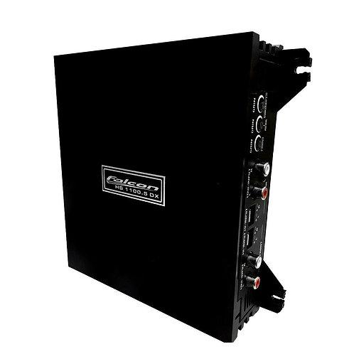 AMPLIFICADOR FALCON HS1100 DX 5 CANAIS 750RMS 1X250+4X125