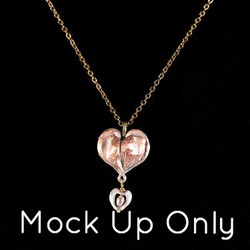Aoi's Bleeding Heart Necklace