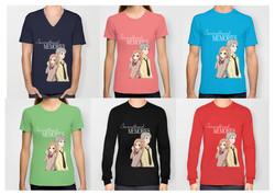T-Shirts, V Necks, Long Sleeves