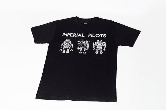 Camiseta Imperial Pilots robôs