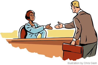 EMPLOYMENT AND TRAINING: The Interview