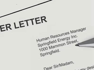 EMPLOYMENT AND TRAINING: 4 Secrets To Writing A Great Cover Letter