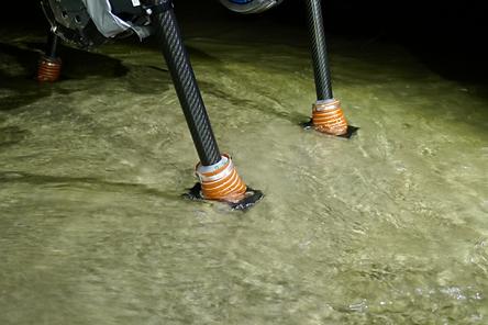 Bota Systems force torque sensor on an ANYmal foot