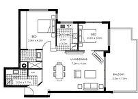 The Grange 3 Bedroom Floor Plan