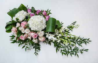 Hydrangea, Garden Rose and Orchid