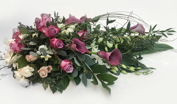 Rose, Orchid and Calla