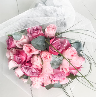 Rose and Eucalyptus