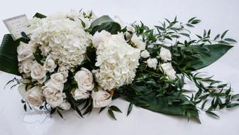 Hydrangea and Garden Rose