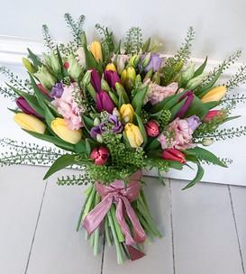 Tulip, Daffodil and Lisianthus